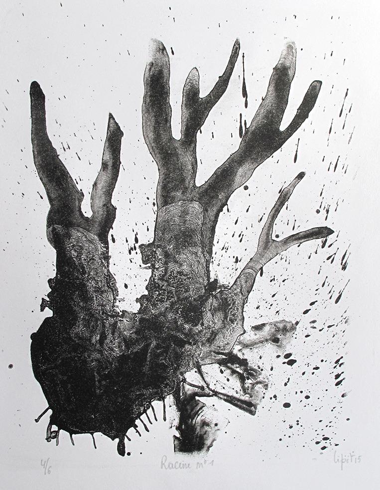 Racine n°1 ( 28 x 19 cm)