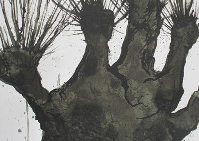 arbre ( 45,5 x 2 cm)