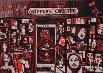 coiffure Christine (50 x 75 cm)