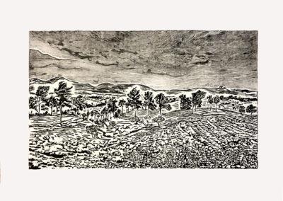 collines d_Ella 56 x 76 cm