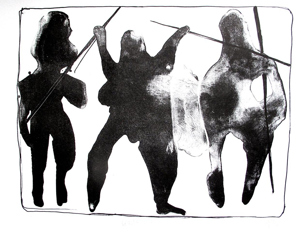 combat n°4 (24 x 32 cm)