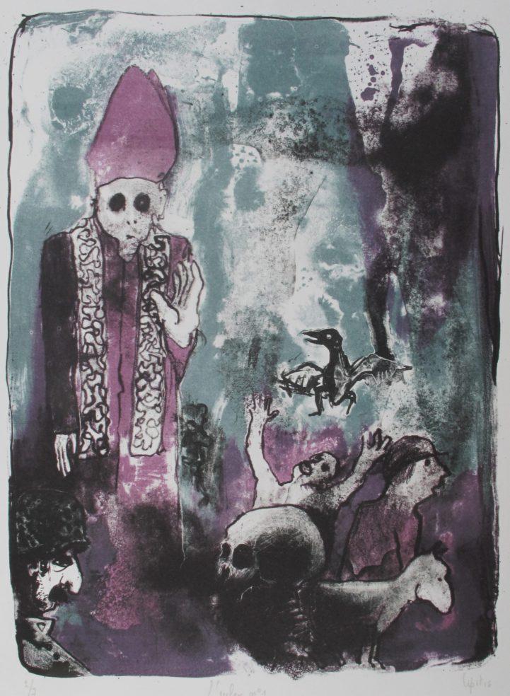 l'enfer n°1 (35 x 25 cm)