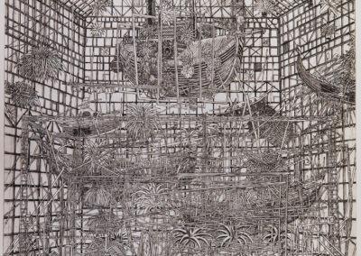 Musée de la Marine en faillite (état définitif)  ( 45 x 60 cm)