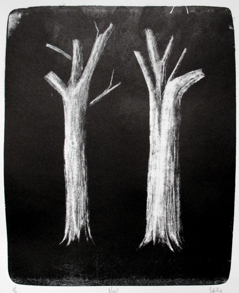 nuit (26,6x21,2 cm)
