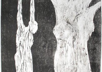 strange fruit  hommage à B.D.(110x64 cm)