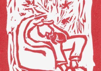 linogravure 13-13 cm