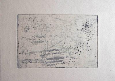 sel gomme arabique sur cuivre 13-8,5 cm