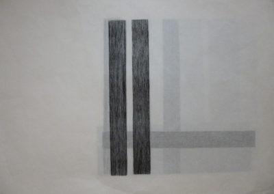 xylogravure sur kozo - 25-25 cm