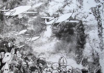 Migration 3-1er état (54,5 x 38 cm)