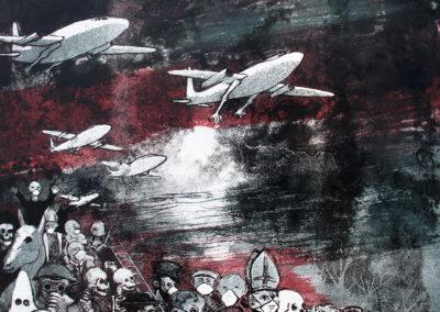 Migration 3-2éme état (54,5 x 38 cm)