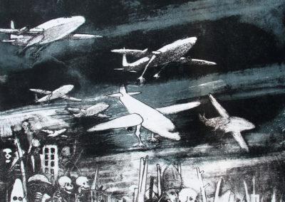 Migration 3-3éme état (54,5 x 38 cm)