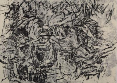 gravures sur bois réalisées pour la revue MaYaK, N°3, 2008; (26 x 36 cm)