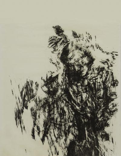 sans titre (96,6 x 63,6 cm) impression en N/B sur papier Hosui