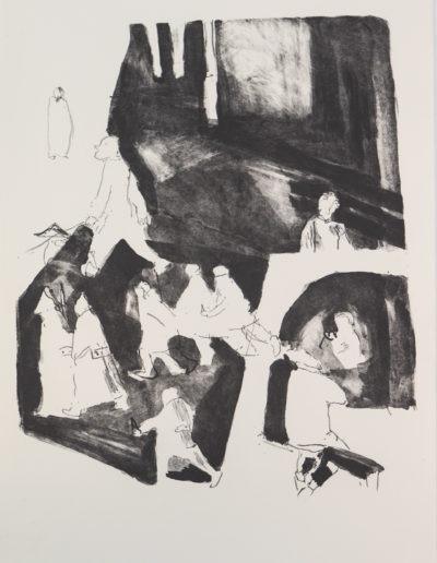 Le nuage en pantalon de Vladimir Maïakovski _1 (48 x 32 cm)