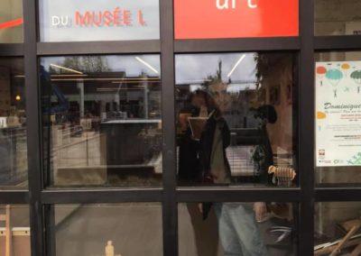 Kasba expose à la librairie Livre et Art de Louvain-la-Neuve