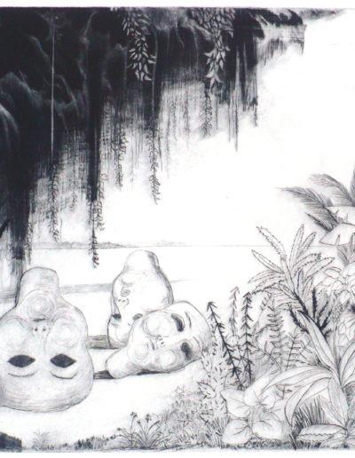 A côté du jardin d'Eden copie