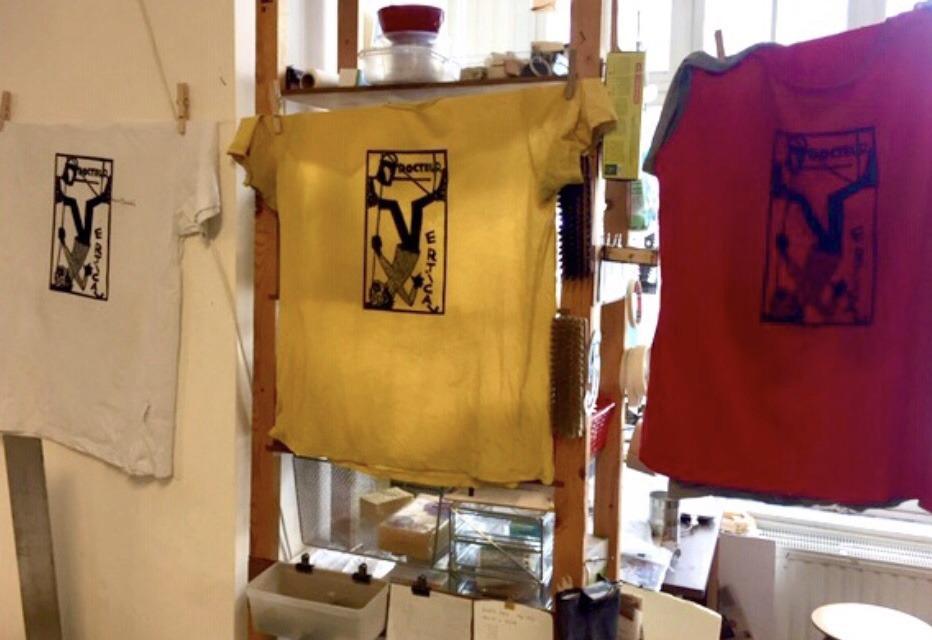 Impression de T-shirts par Gilles