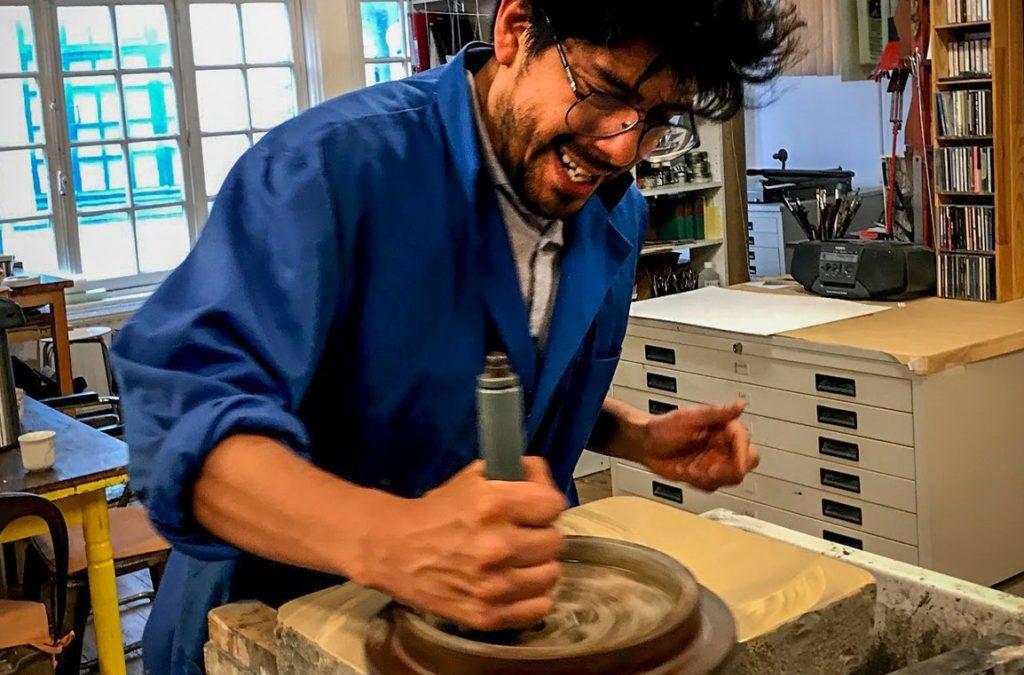Cruz Vargas en artiste résident à KASBA