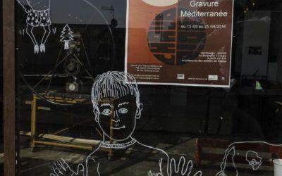 l'exposition Chaud Froid à la Maison de la Gravure Méditerranée